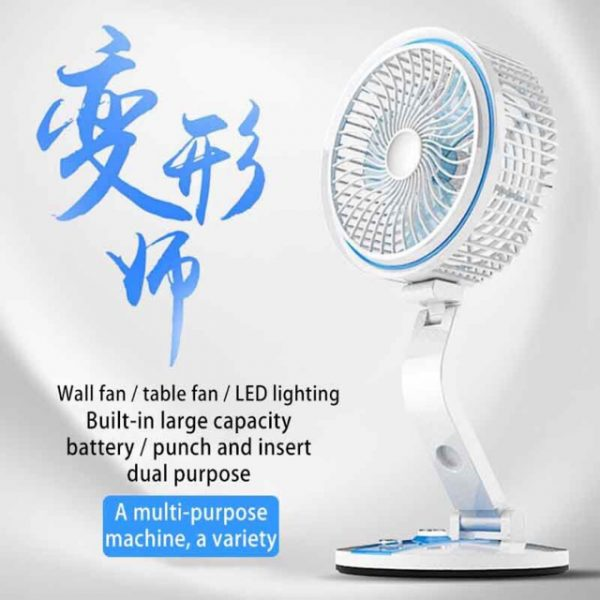 Portable Folding Led Fan