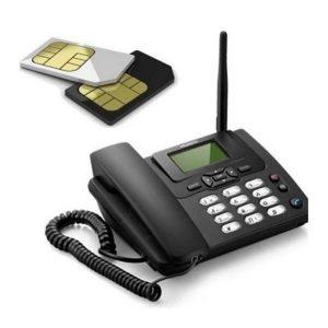 Double Sim Supported Land-Phone-সিম সাপোর্টেড ফোন