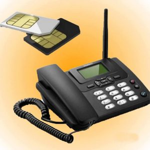 Panasonic Gsm Land Phone 2 Sim