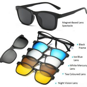 6 in 1 Sun glass