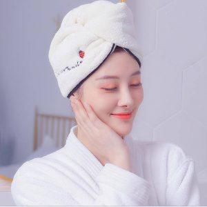 Magic Towel For Quick Drying Hair Microfiber
