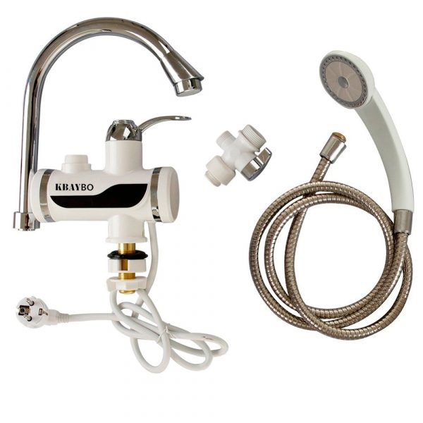 Water Heater Tap with Hand Shower