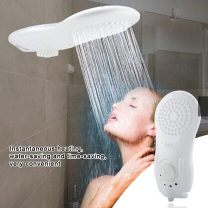 Electric Water Heater Bath Supplies Instant Heating Shower Head