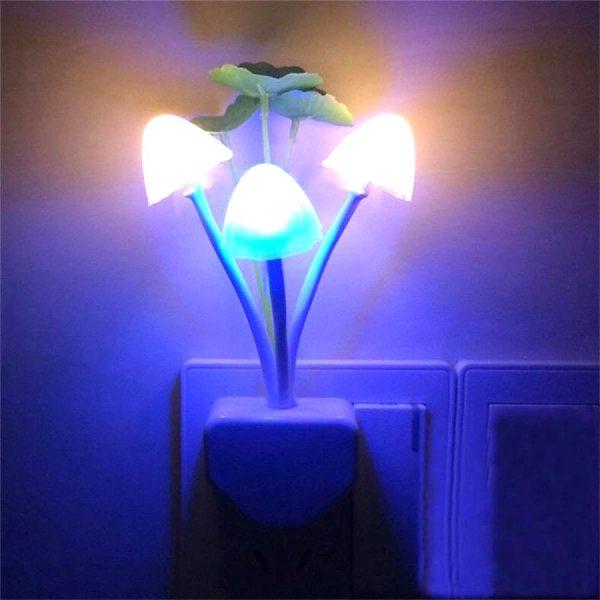 LED Mushroom Night Light