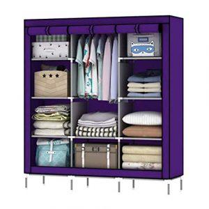 Portable Almari-Purple